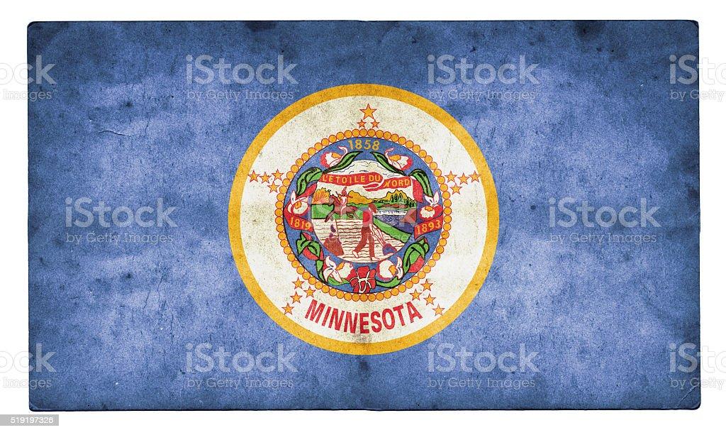 Minnesota Flag stock photo