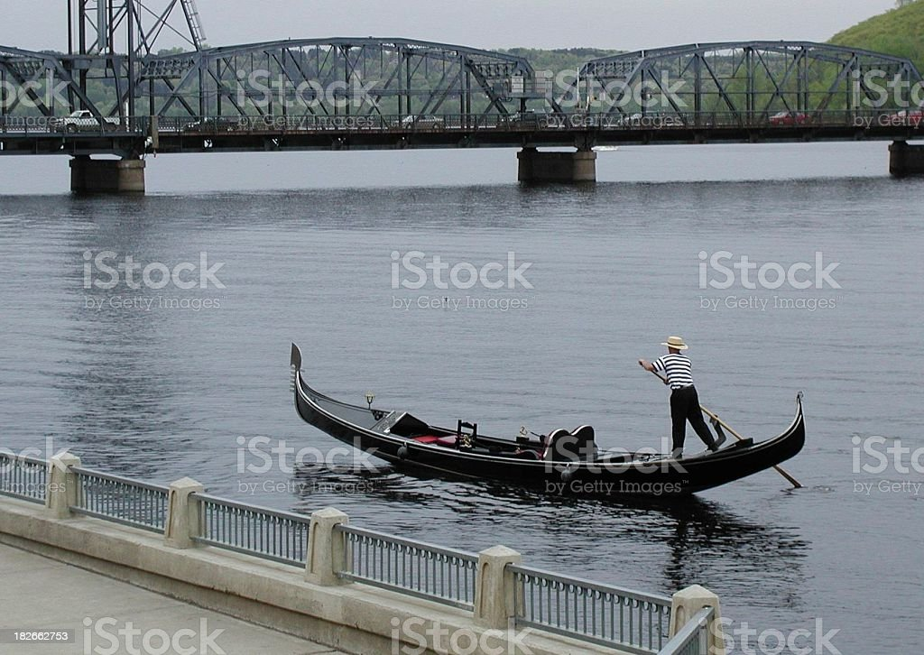 Minnesota Gondola royalty-free stock photo