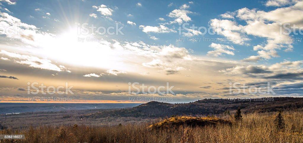Minnesota Landscape stock photo
