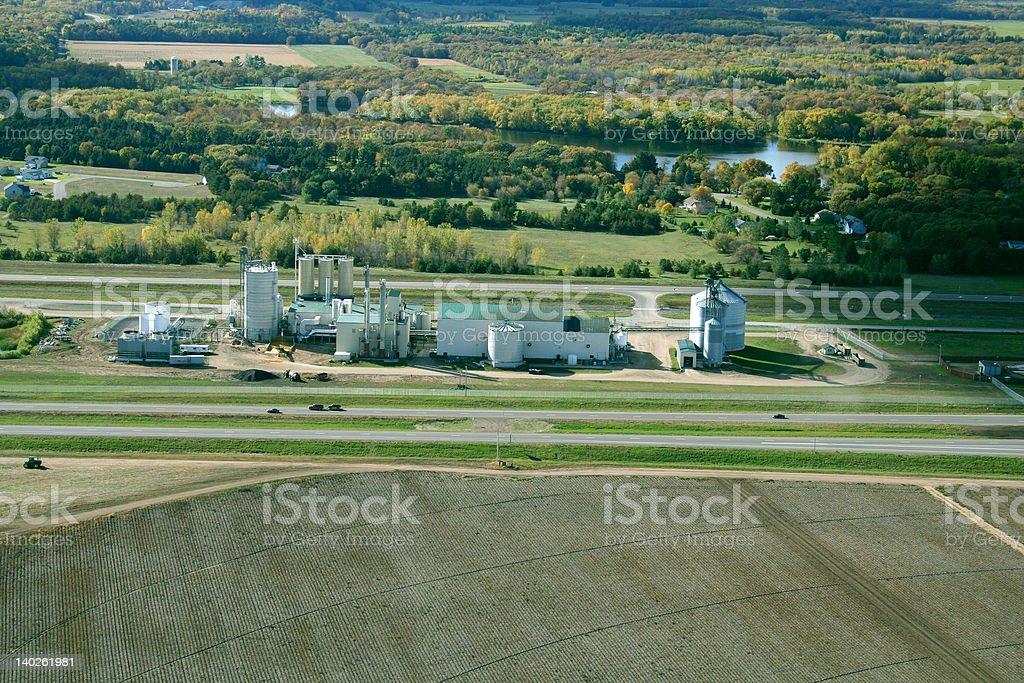 Minnesota rural Plant stock photo