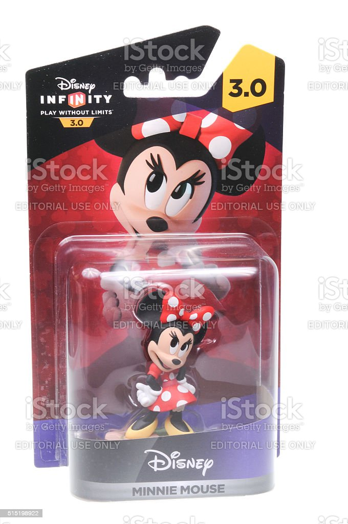 Minnie Mouse Disney Infinity 3.0 Figurine stock photo