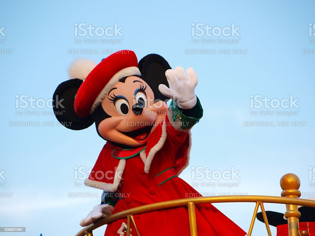 'Minnie Mouse' in Tokyo-Disneyland, Japan stock photo