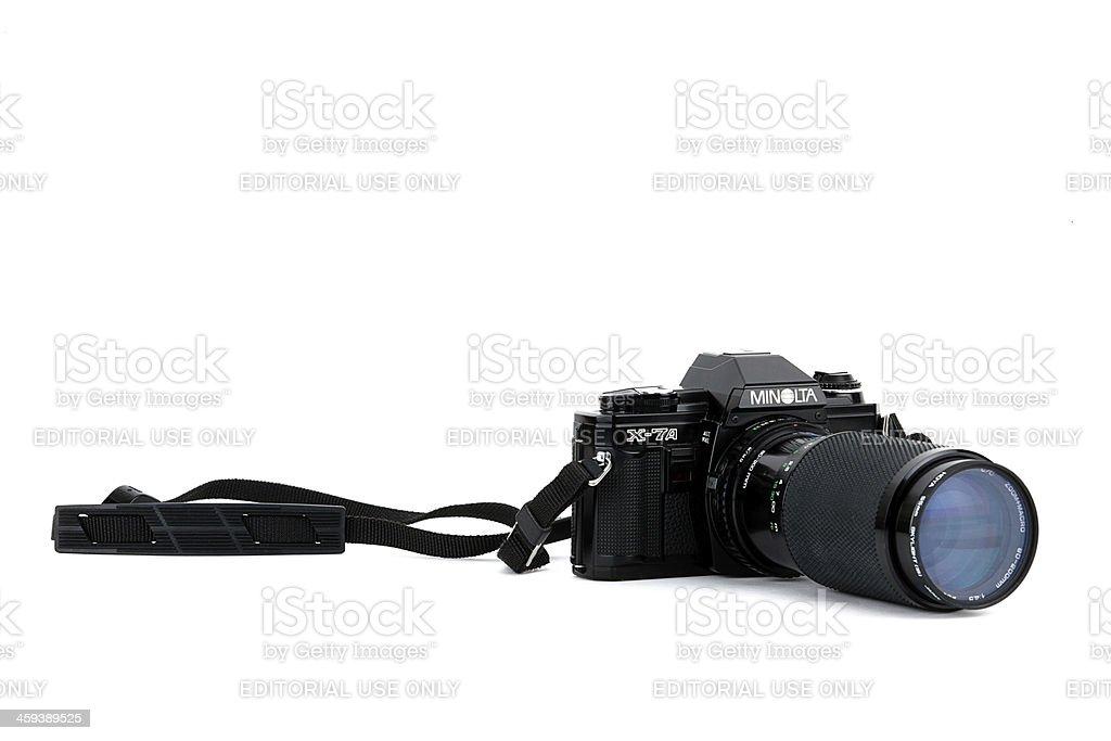 Minolta Camera stock photo