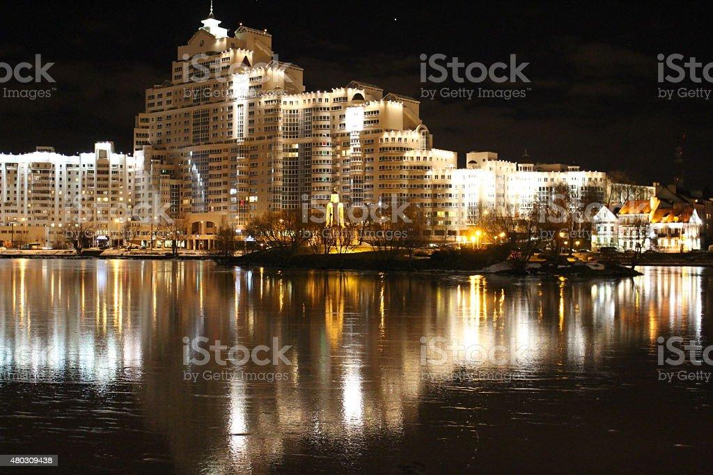 Minsk royalty-free stock photo