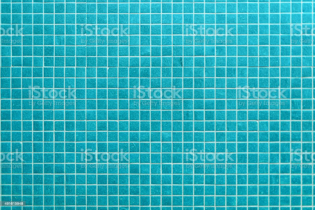 mint blue ceramic tiles in a modern bathroom stock photo