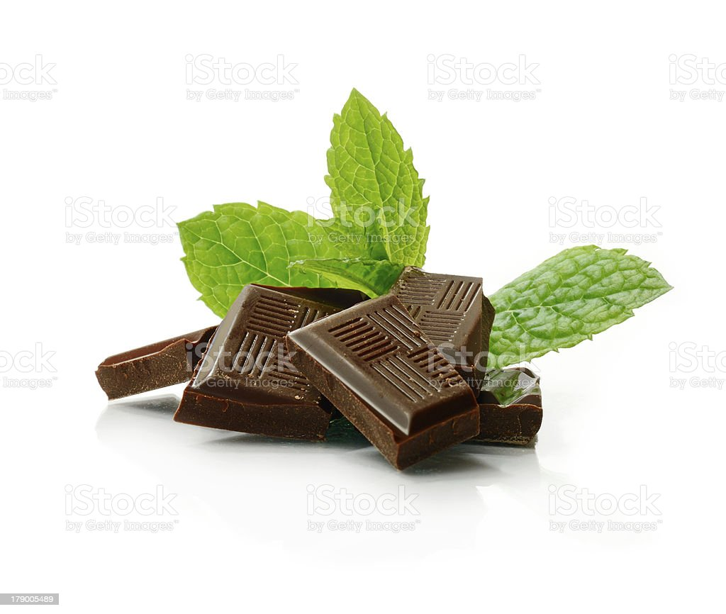 Mint Chocolate royalty-free stock photo