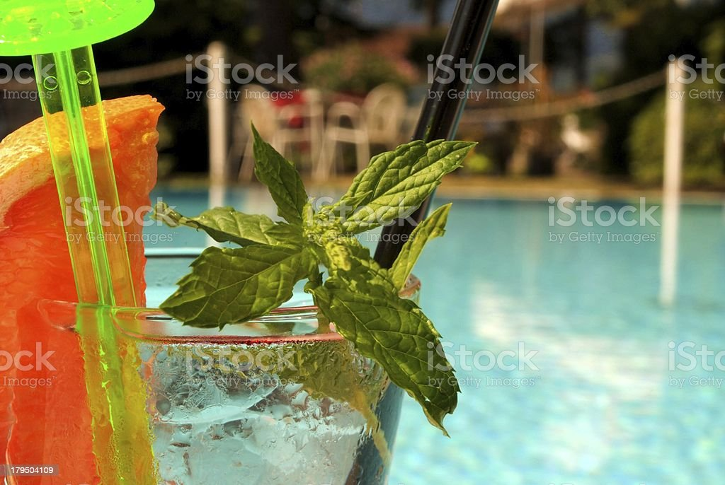 mint drink royalty-free stock photo