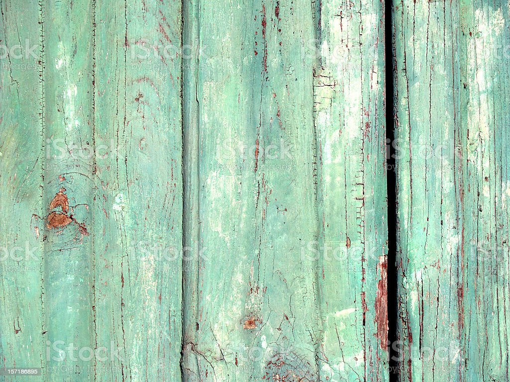 Mint Green Door..... royalty-free stock photo