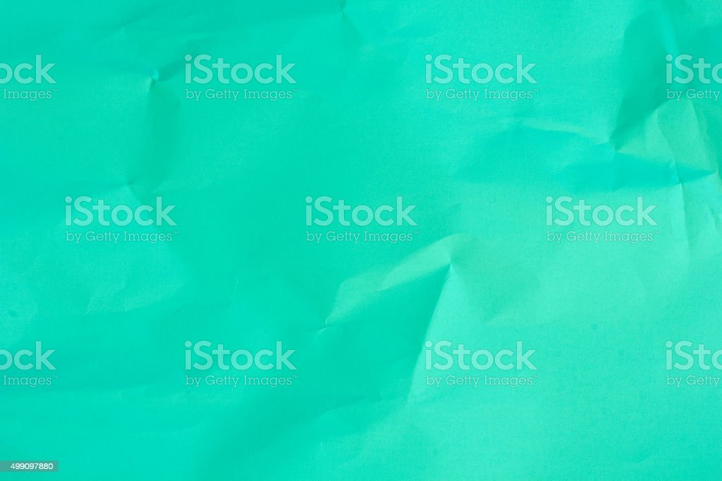 Mint Green Paper Background. stock photo