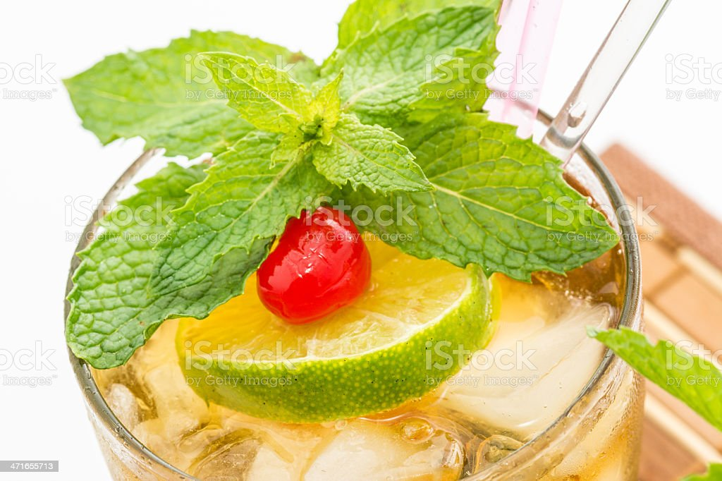 Mint Julep royalty-free stock photo