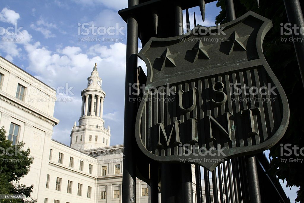 U.S. Mint royalty-free stock photo