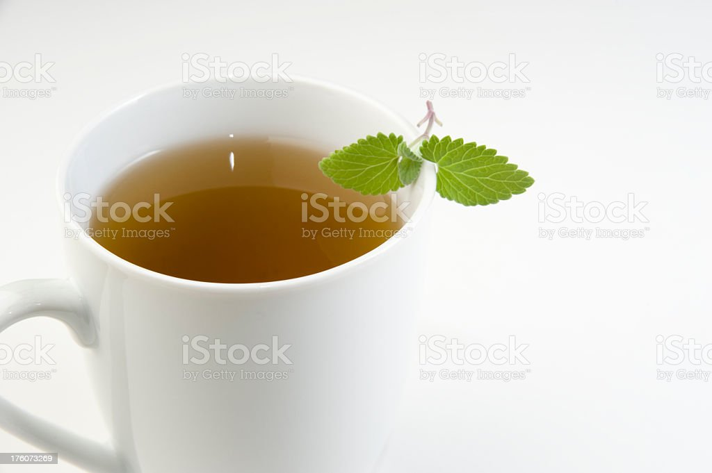 Mint Tea. royalty-free stock photo