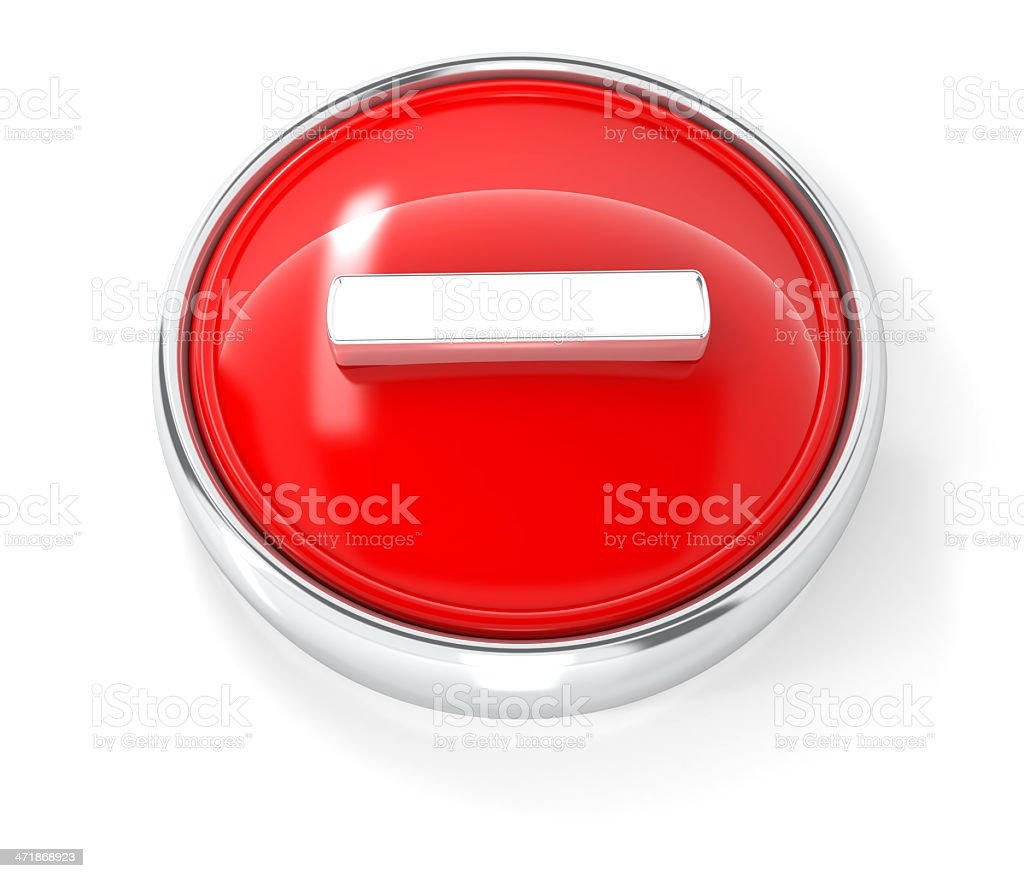 minus icon royalty-free stock photo