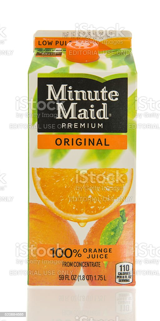 Minute made stock photo
