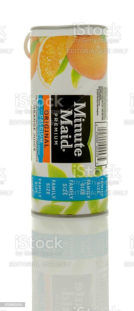 Minute Maid Orange Juice stock photo
