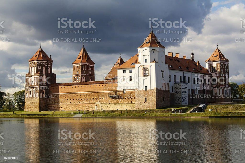 Mir castle royalty-free stock photo