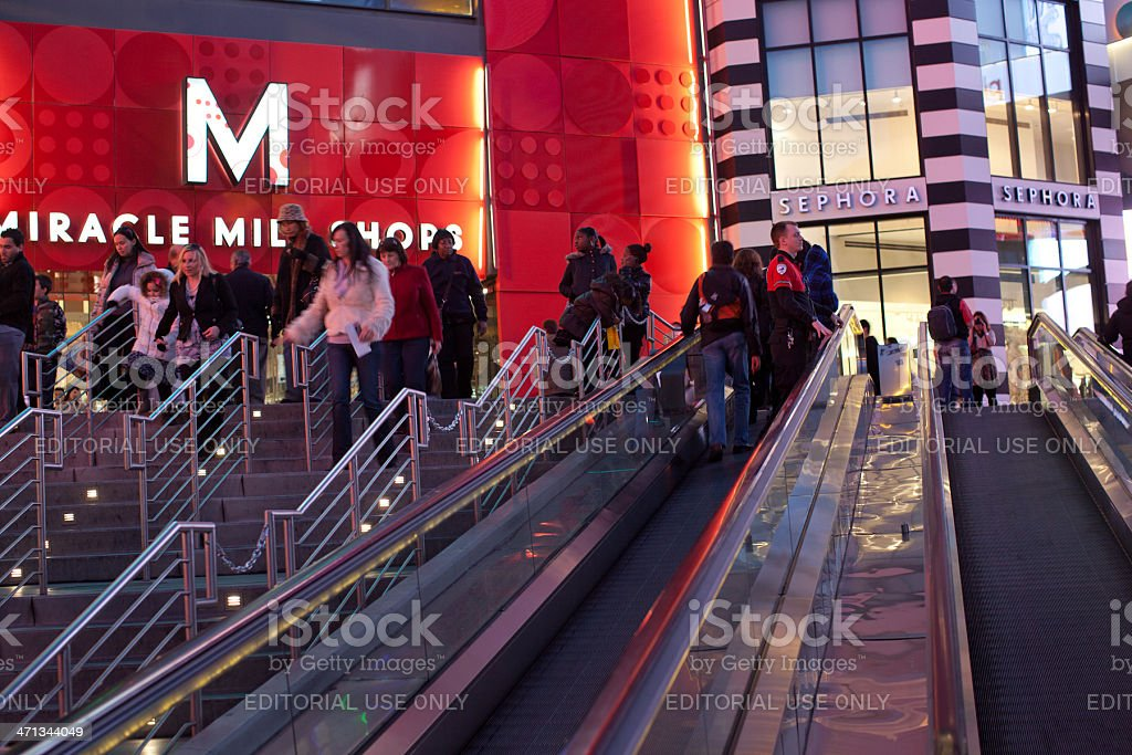 Miracle Mile Shops stock photo