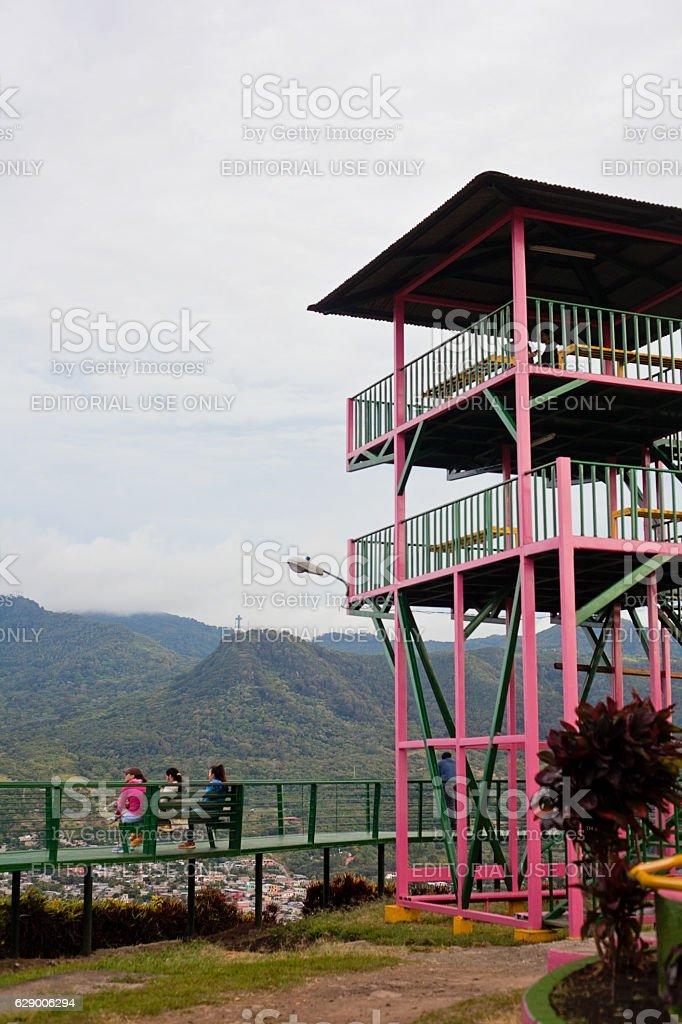 Mirador el Calvario, Matagalpa stock photo