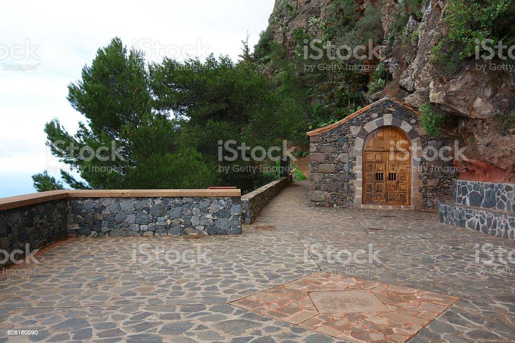 Mirador Ermita del Santo, La Gomera, Canary Islands, Spain stock photo