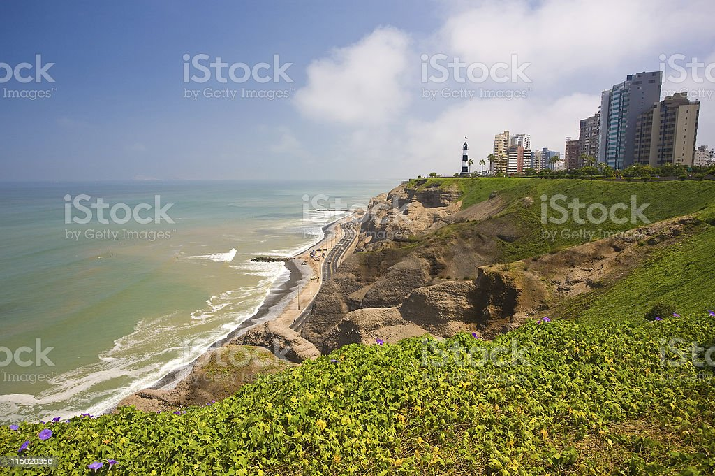 Miraflores In Lima, Peru stock photo
