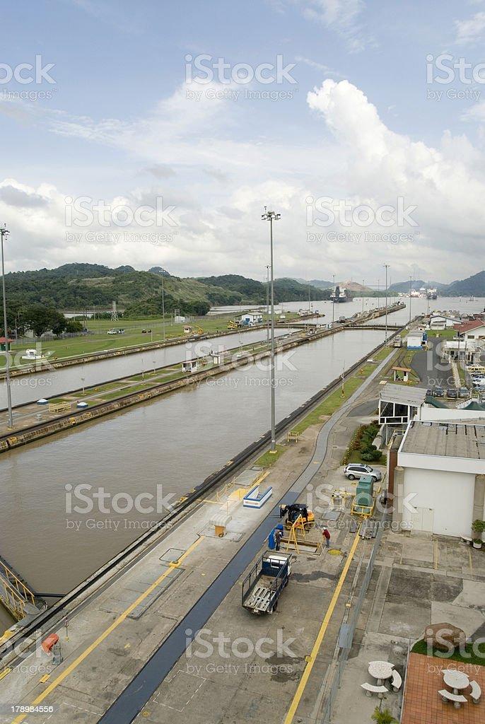 Miraflores Locks royalty-free stock photo