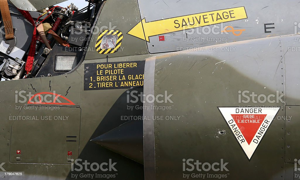 Mirage 2000 royalty-free stock photo