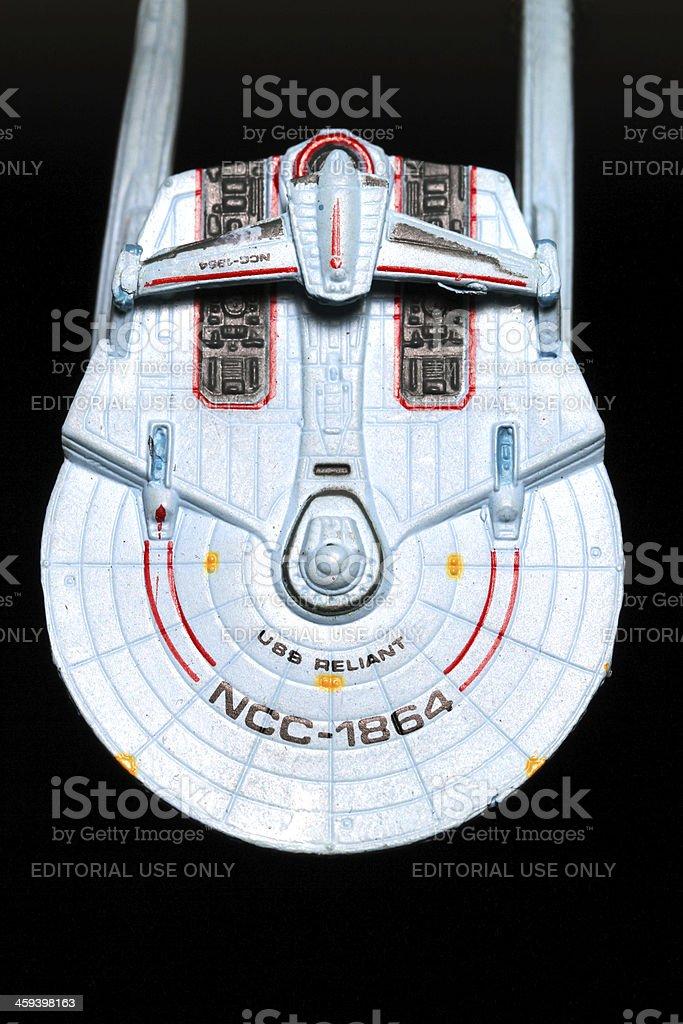 Miranda Class Warship royalty-free stock photo