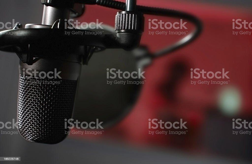 Mircophone stock photo
