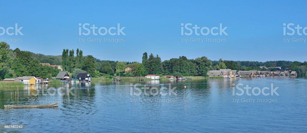 Mirow,Mecklenburg Lake District,Germany stock photo