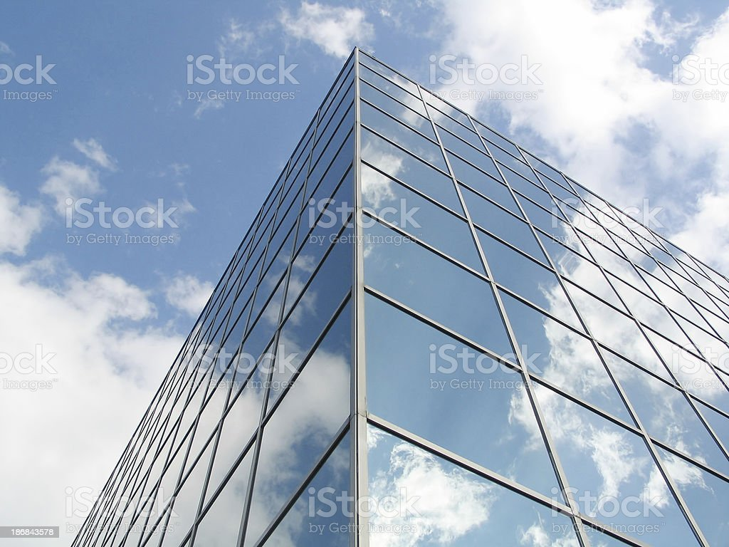 Mirror building royalty-free stock photo