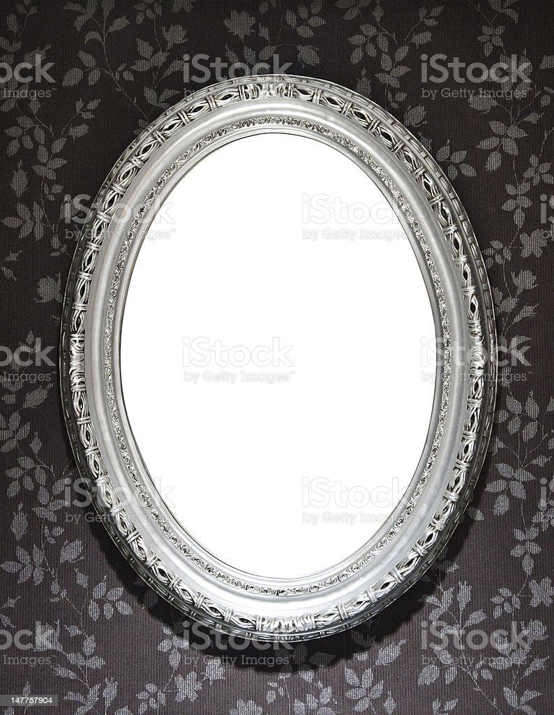 Mirror Frame stock photo