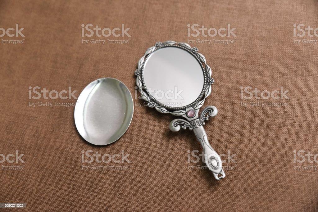 Mirror Isolated stock photo