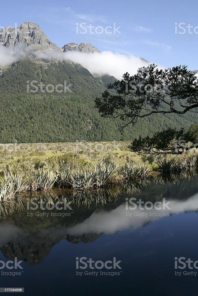 Mirror Lakes stock photo