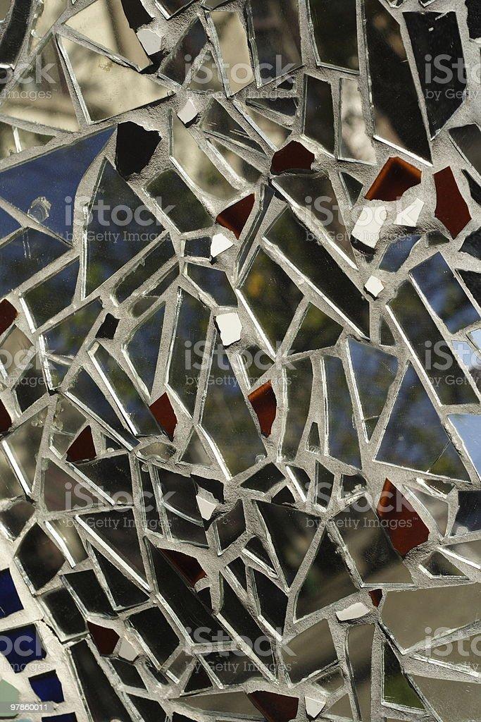 Mirror Mosaic stock photo