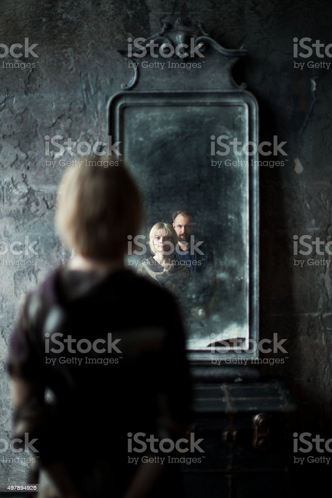 Mirror stock photo
