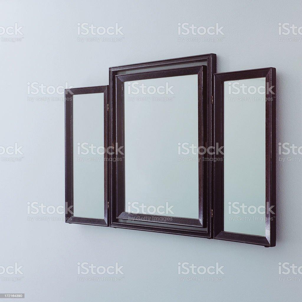 Mirror Triptych XL royalty-free stock photo