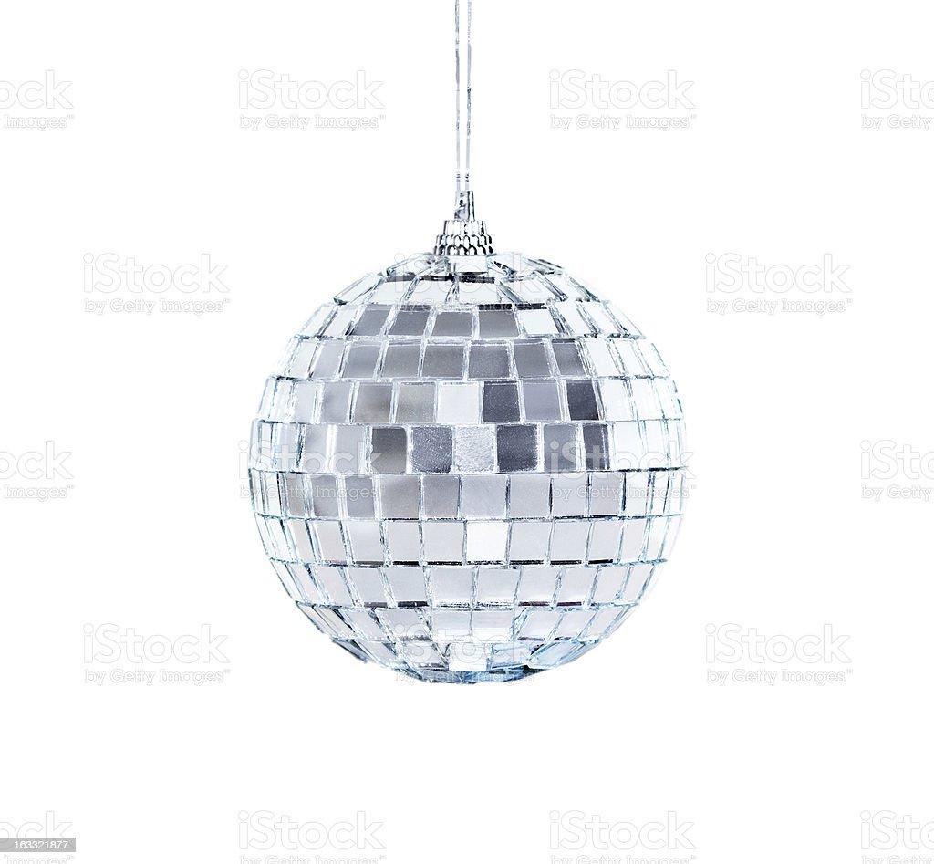 Mirrorball isolated royalty-free stock photo