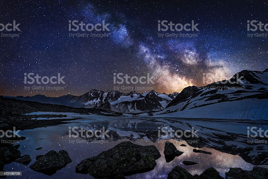 Mirrow Lake stock photo