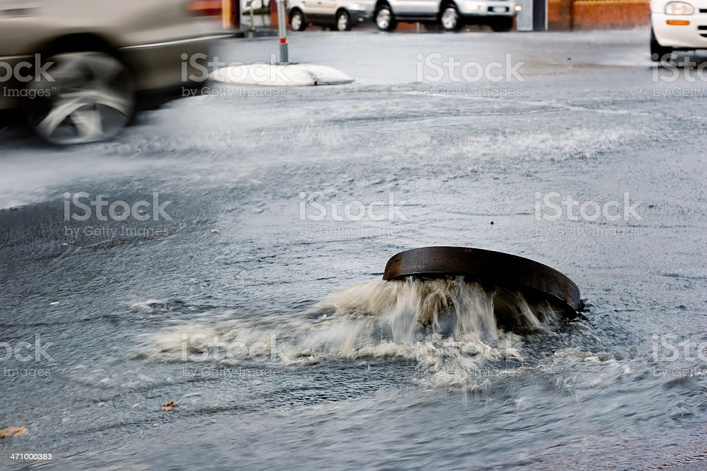 Misc: flood. stock photo
