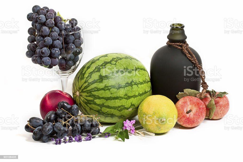 Miscellaneous fruits royalty-free stock photo