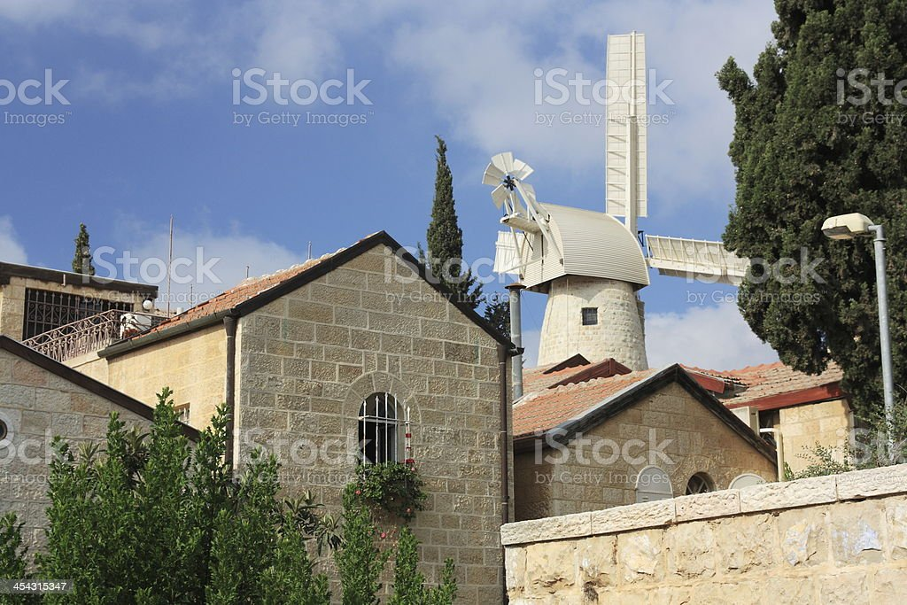 Mishkento Shaananim - Jerusalem, Israel royalty-free stock photo
