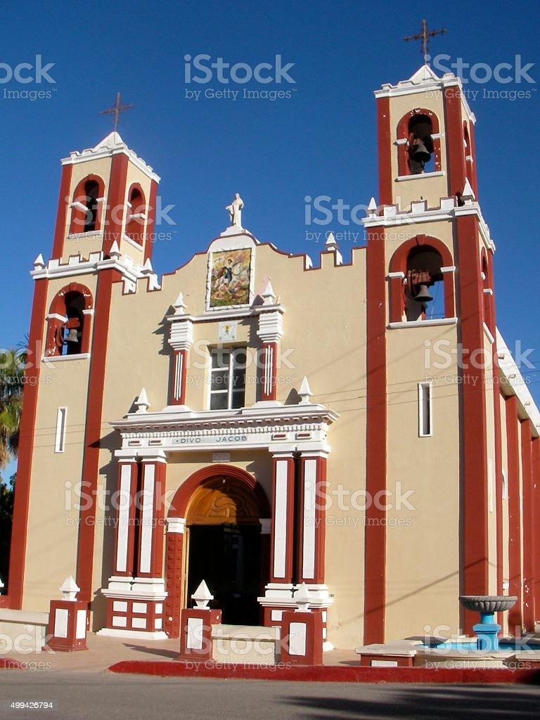 Misión Santiago de Los Coras stock photo