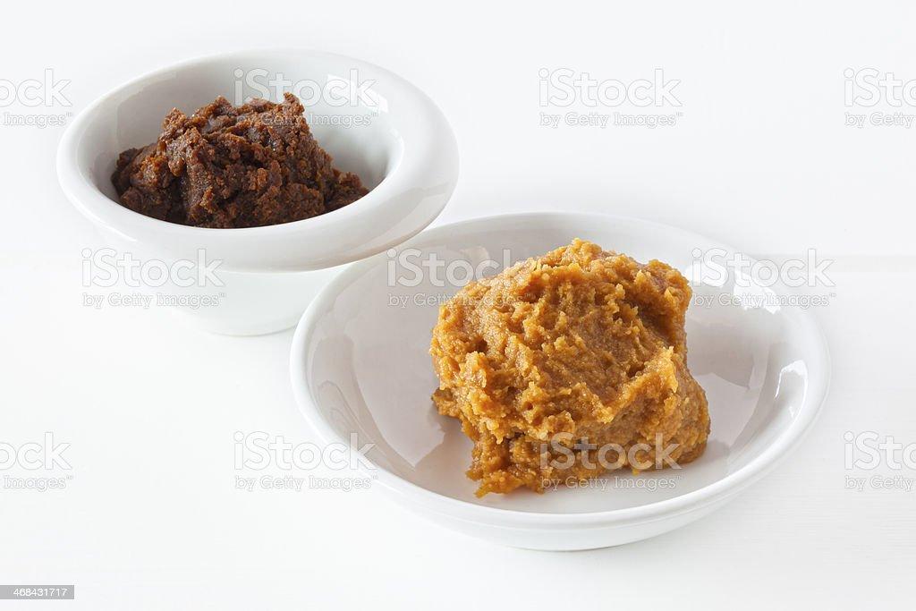 Miso Paste stock photo