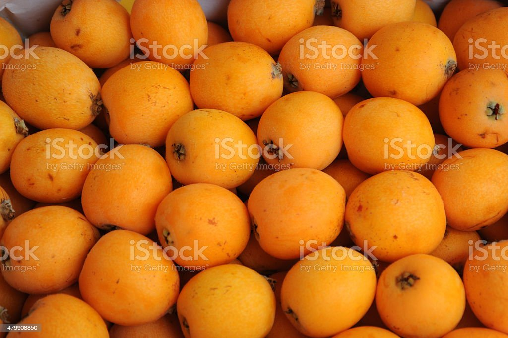 Mispeln aus Spanien stock photo