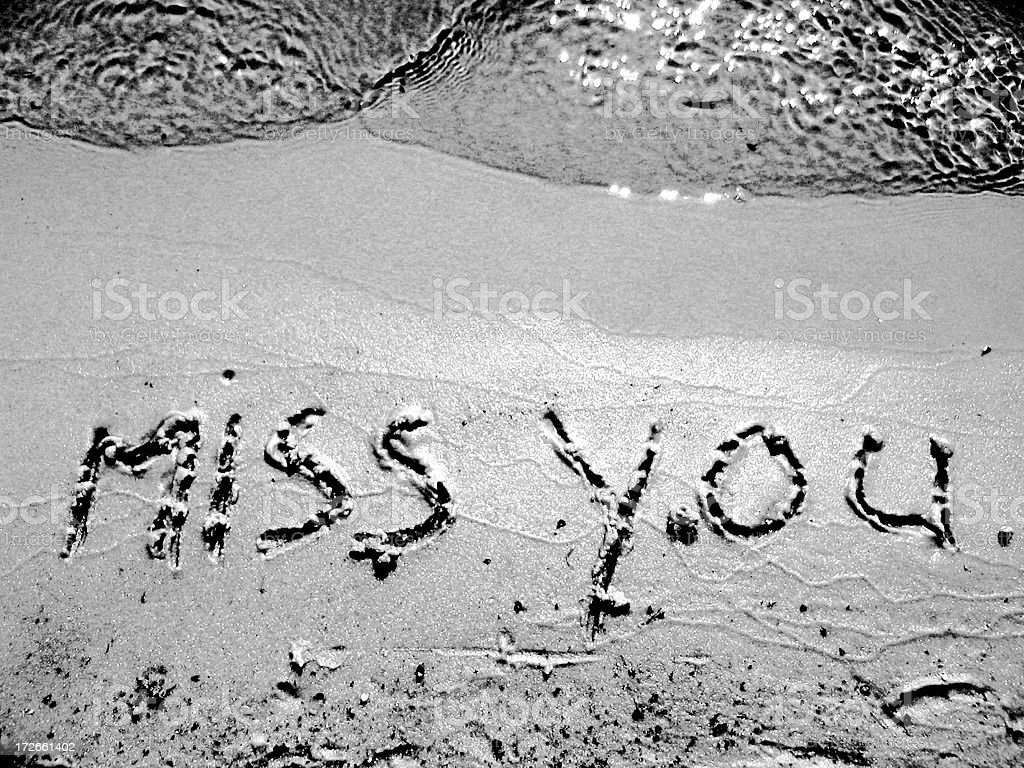 Miss You,again.. royalty-free stock photo