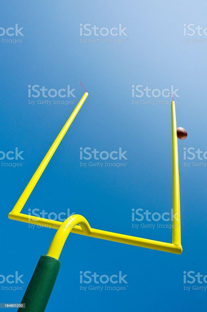 Missed Field Goal - American Football stock photo