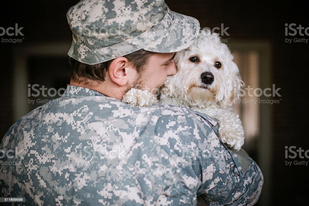 I missed you so much! stock photo