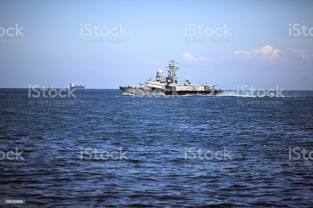 missile boat royalty-free stock photo