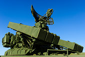 Missile launcher with radar