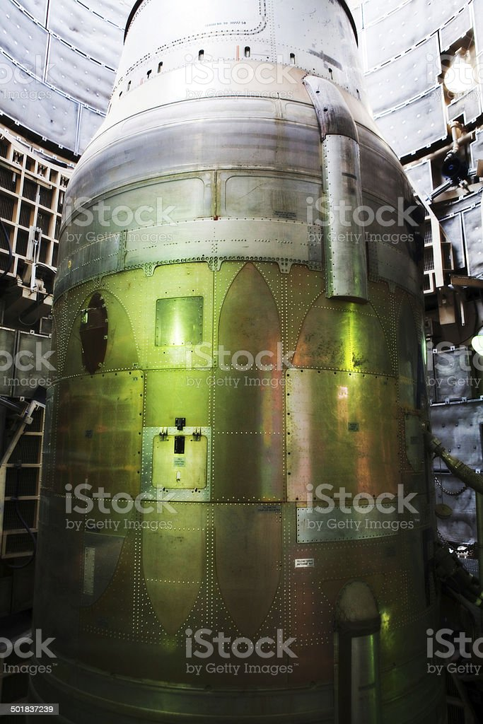 Missile Parts stock photo